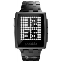Photo Pebble SmartWatch Steel (Black Matte)