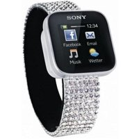 Smart watches,sports bracelets Sony SmartWatch (Swarovski)